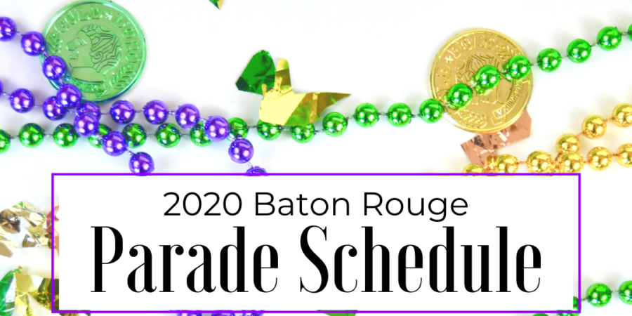 Planning to make it to a few parades but don't when/where they're happening? Then I've got you covered! Here are the parades and routes in Baton Rouge!