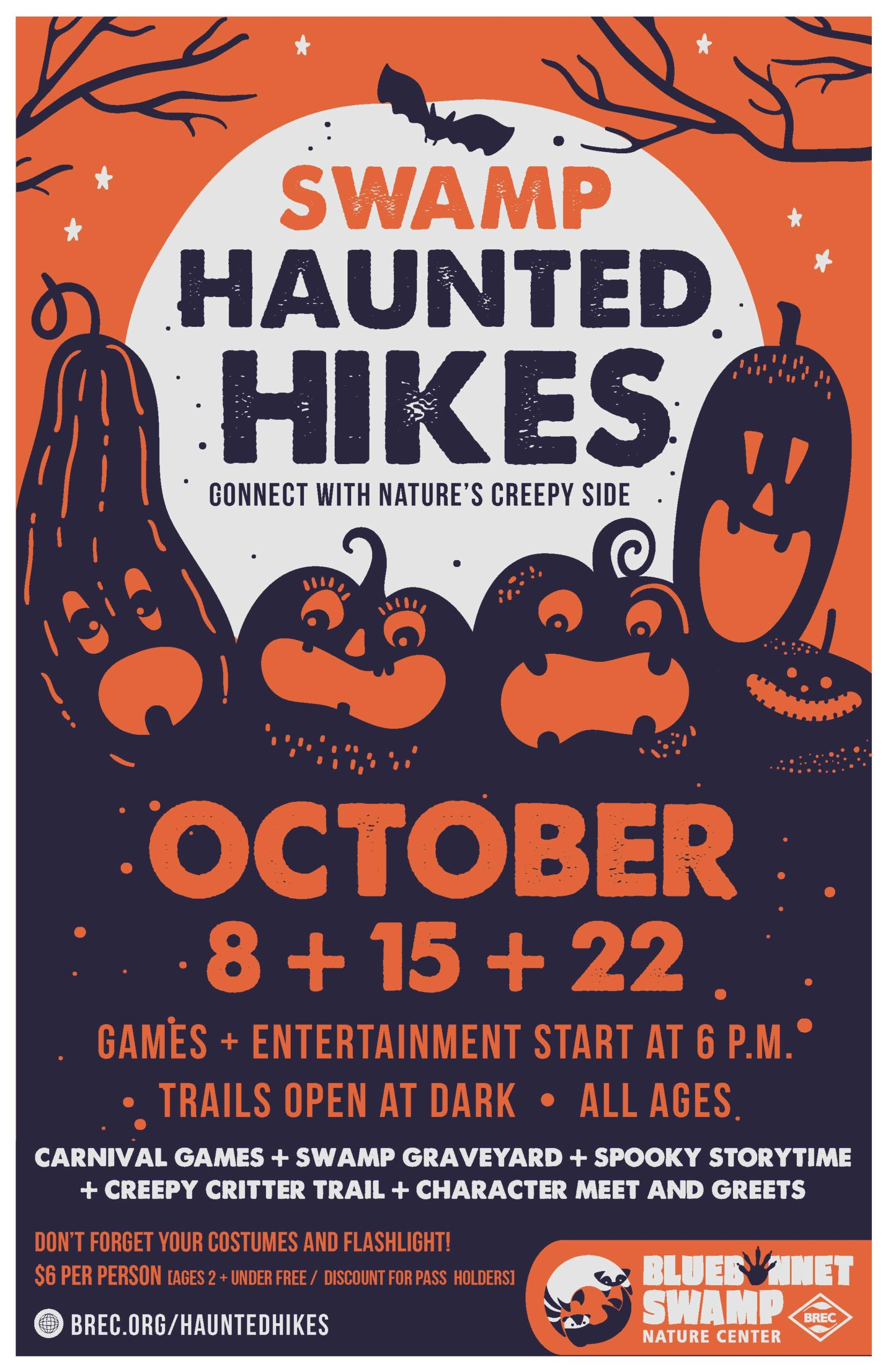 With spooky season offically here and Fall weather (hopefully) coming soon, here's how to enjoy it with some fun activities in/around the Baton Rouge area!